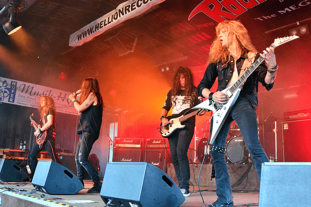 SPELLCASTER Live Headbangers Open Air