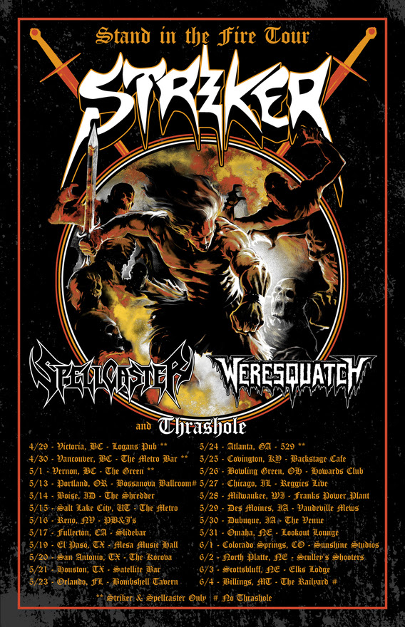 Striker Spellcaster Tour