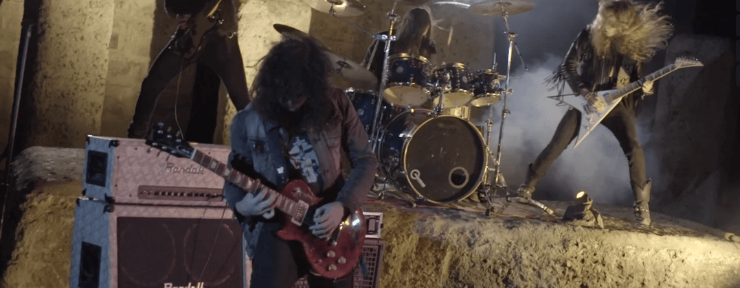 SPELLCASTER Night Hides The World Official Music Video